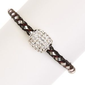 NEW!!  Pave Black Bracelet